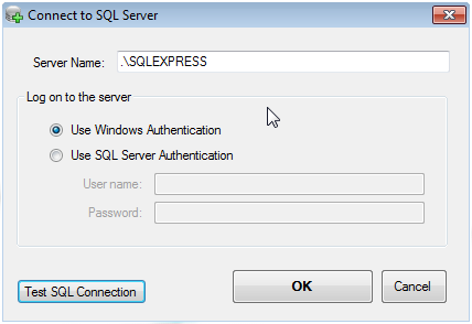 Connect to SQL